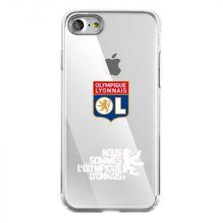 Coque Transparente Pour Iphone 7 / 8 / SE (2020) Olympique Lyonnais Double Face