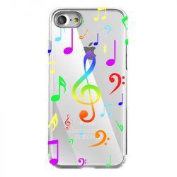 Coque Transparente Pour Iphone 7 / 8 / SE (2020) Note Musique Colore