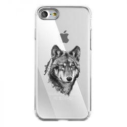 Coque Transparente Pour Iphone 7 / 8 / SE (2020) Loup