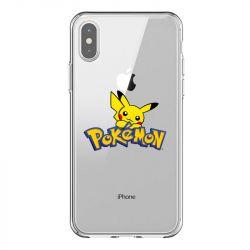 Coque Transparente Pour Iphone X / XS Pokemon