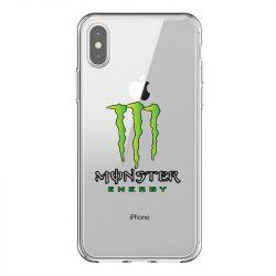 Coque Transparente Pour Iphone X / XS Monster Energy