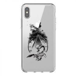 Coque Transparente Pour Iphone X / XS Scorpion