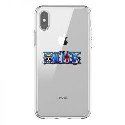 Coque Transparente Pour Iphone X / XS One Piece Logo