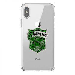 Coque Transparente Pour Iphone X / XS Harry Potter Slytherin