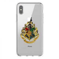Coque Transparente Pour Iphone X / XS Harry Potter Poudlard
