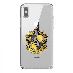 Coque Transparente Pour Iphone X / XS Harry Potter Hufflepuff