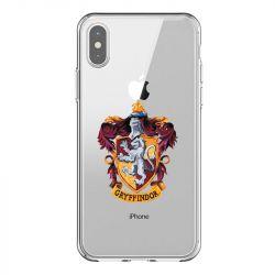 Coque Transparente Pour Iphone X / XS Harry Potter Griffindor