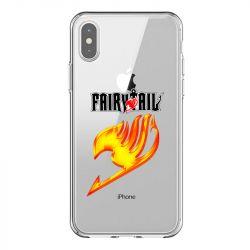 Coque Transparente Pour Iphone X / XS Fairy Tail