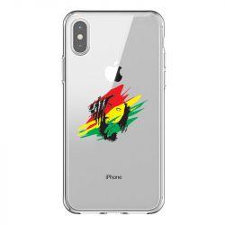 Coque Transparente Pour Iphone X / XS Bob Marley Graf