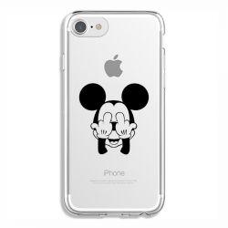Coque Transparente Pour Iphone 6 / 6s Mickey doigt