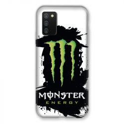 Coque Pour Samsung Galaxy A02S Monster Energy Tache