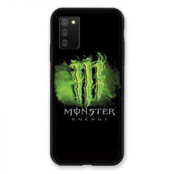 Coque Pour Samsung Galaxy A02S Monster Energy Vert