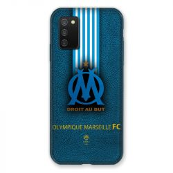 Coque Pour Samsung Galaxy A02S Olympique Marseille OM Bande