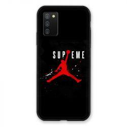 Coque Pour Samsung Galaxy A02S Jordan Supreme Noir