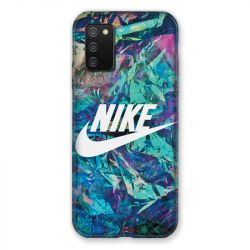 Coque Pour Samsung Galaxy A02S Nike Turquoise
