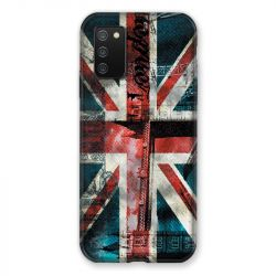 Coque Pour Samsung Galaxy A02S Angleterre UK Jean's