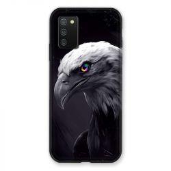 Coque Pour Samsung Galaxy A02S Aigle Royal Noir