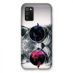 Coque Pour Samsung Galaxy A02S Chat Fashion