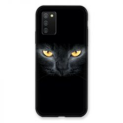 Coque Pour Samsung Galaxy A02S Chat Noir