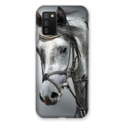 Coque Pour Samsung Galaxy A02S Cheval Blanc