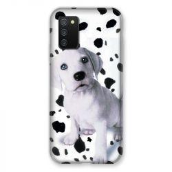 Coque Pour Samsung Galaxy A02S Chien Dalmatien
