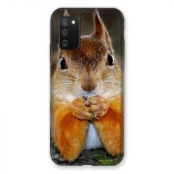Coque Pour Samsung Galaxy A02S Ecureuil Face