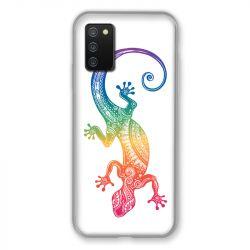 Coque Pour Samsung Galaxy A02S Animaux Maori Salamandre Color