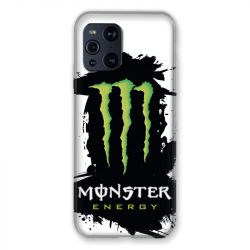 Coque Pour Oppo Find X3 Pro Monster Energy Tache