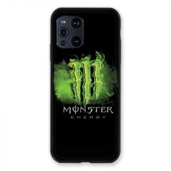 Coque Pour Oppo Find X3 Pro Monster Energy Vert