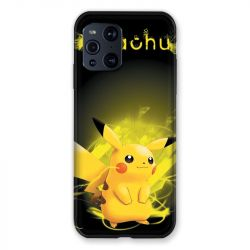 Coque Pour Oppo Find X3 Pro Pokemon Pikachu Eclair