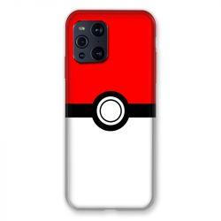Coque Pour Oppo Find X3 Pro Pokemon Pokeball