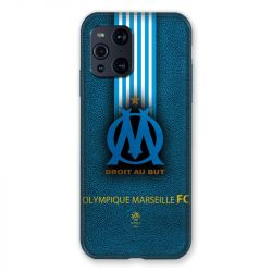 Coque Pour Oppo Find X3 Pro Olympique Marseille OM Bande
