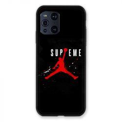 Coque Pour Oppo Find X3 Pro Jordan Supreme Noir