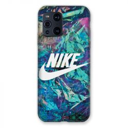 Coque Pour Oppo Find X3 Pro Nike Turquoise