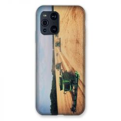 Coque Pour Oppo Find X3 Pro Agriculture Moissonneuse