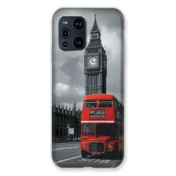 Coque Pour Oppo Find X3 Pro Angleterre London Bus