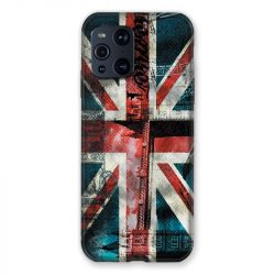 Coque Pour Oppo Find X3 Pro Angleterre UK Jean's