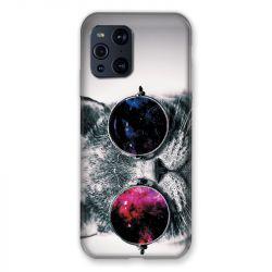Coque Pour Oppo Find X3 Pro Chat Fashion