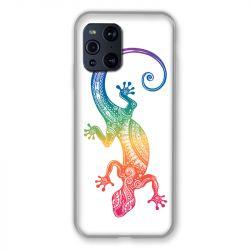 Coque Pour Oppo Find X3 Pro Animaux Maori Salamandre Color