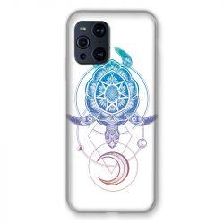 Coque Pour Oppo Find X3 Pro Animaux Maori Tortue Color