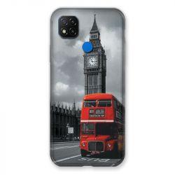 Coque Pour Xiaomi Redmi 9C Angleterre London Bus