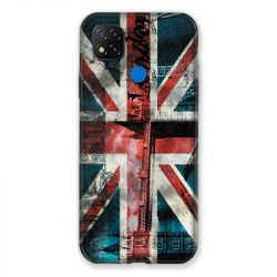 Coque Pour Xiaomi Redmi 9C Angleterre UK Jean's