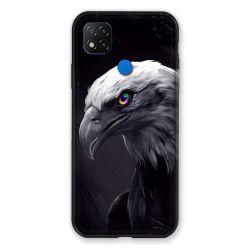 Coque Pour Xiaomi Redmi 9C Aigle Royal Noir