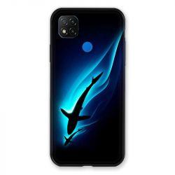 Coque Pour Xiaomi Redmi 9C Requin Noir
