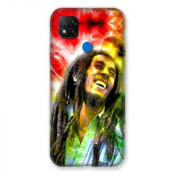 Coque Pour Xiaomi Redmi 9C Bob Marley Color