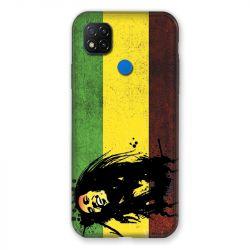 Coque Pour Xiaomi Redmi 9C Bob Marley Drapeau