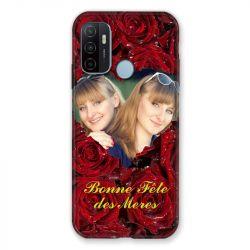 Coque Pour Oppo A53 / A53S Personnalisee Fete Des Meres Roses Rouges