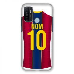 Coque Pour Oppo A53 / A53S Personnalisee Maillot Football FC Barcelone