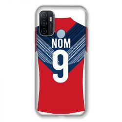 Coque Pour Oppo A53 / A53S Personnalisee Maillot Football LOSC Lille