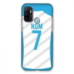 Coque Pour Oppo A53 / A53S Personnalisee Maillot Football Olympique Marseille Domicile